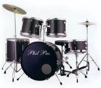 phil pro drums # 3003 / bk